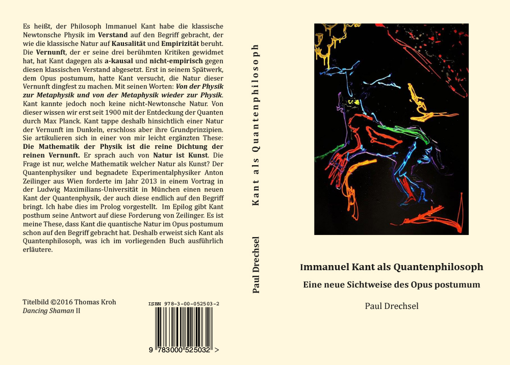 Buchcover Immanuel Kant als Quantenphilosoph.: Eine neue Sichtweise des Opus postumum von Thomas Kroh